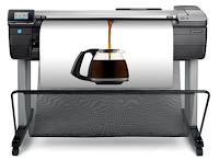 HP Designjet T830 adalah enjin plotter siri terbaru dikeluarkan oleh HP pada penghujung tahun 2015