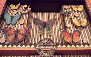 Olde curiosity Shoppe Curio Cabinet Kit My Creative Spirit Clare Charvill Graphic 45