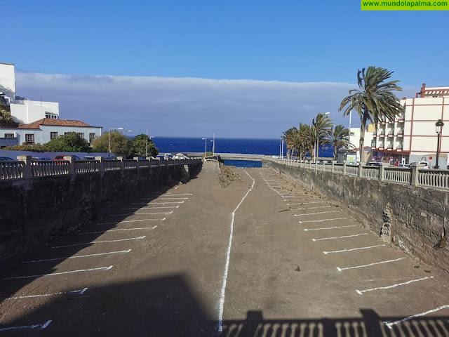 El Ayuntamiento pone en marcha 109 plazas de aparcamiento en el barranco de Las Nieves