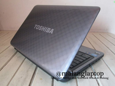 laptop second gaming toshiba l745