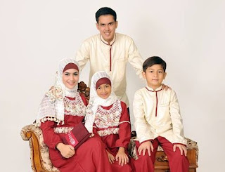 Model Baju Seragam Pesta Keluarga Muslim Modern Terbaru