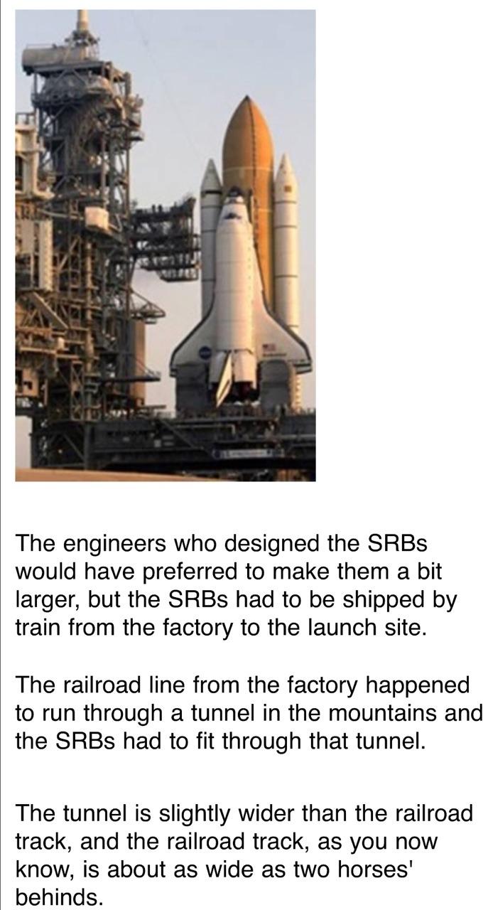 space shuttle horses arse - photo #22