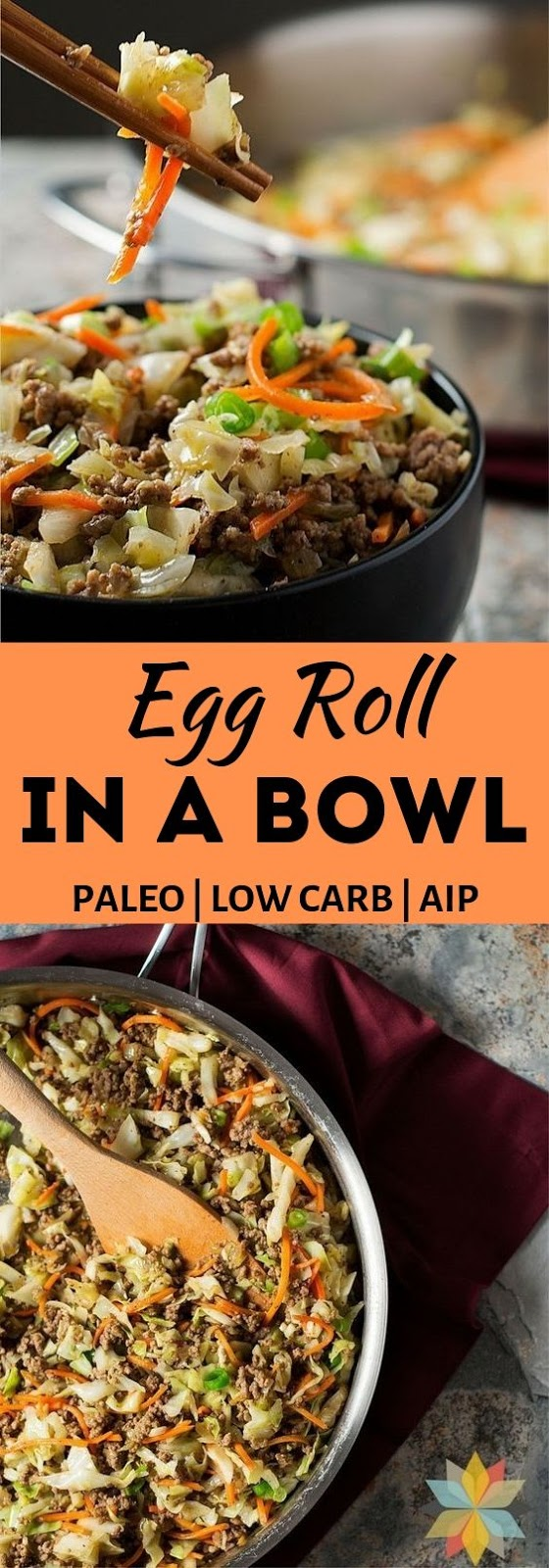 Egg Roll in a Bowl (Paleo, Keto, Low Carb, Whole30, AIP)