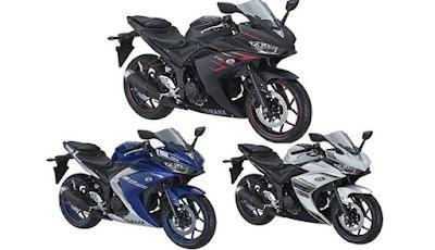 Stripping baru Yamaha R25 2017