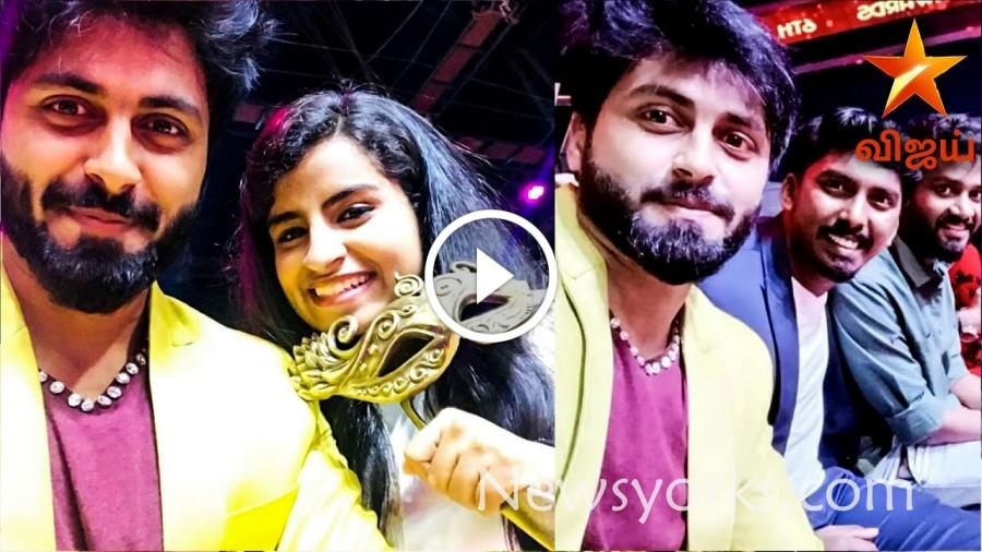 சிவாங்கி மற்றும் அஷ்வின் BEST PAIR AWARD ??? விஜய் அவார்ட்ஸ் மேடையில் நடந்த சுவாரஸ்யமான நிகழ்வு !!