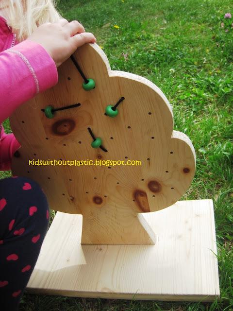 drewniane przeplatanki