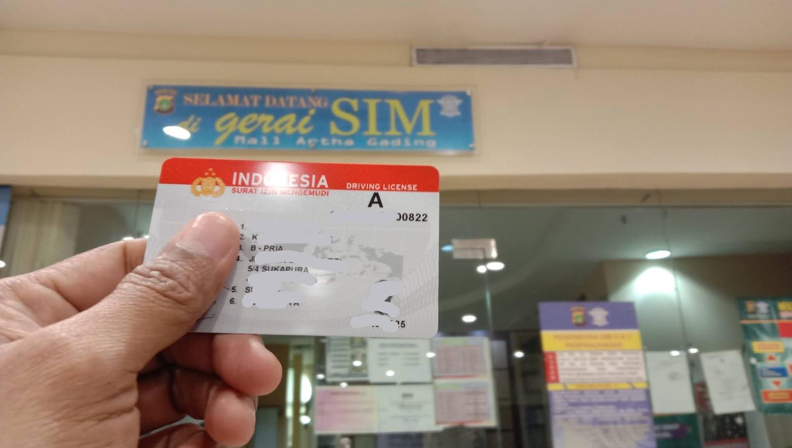 SIM Model Baru