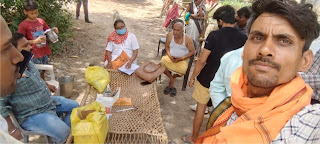 मया में स्वास्थ्य विभाग की टीम ने शिविर लगाकर की कोरोना संक्रमण की जांच   #NayaSaberaNetwork