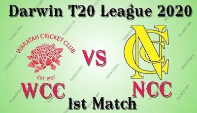 Who will win WCC vs NCC 1st T20I Match