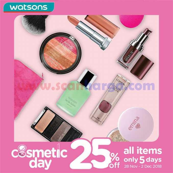 Katalog Promo Watsons Terbaru 21 – 23 Desember 2018