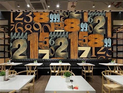Wallpaper Custom Untuk Kafe | Wallpaper Custom 3D Untuk Warung Kopi | Tempat Jual Wallpaper Custom Untuk Warung Kopi Jogja