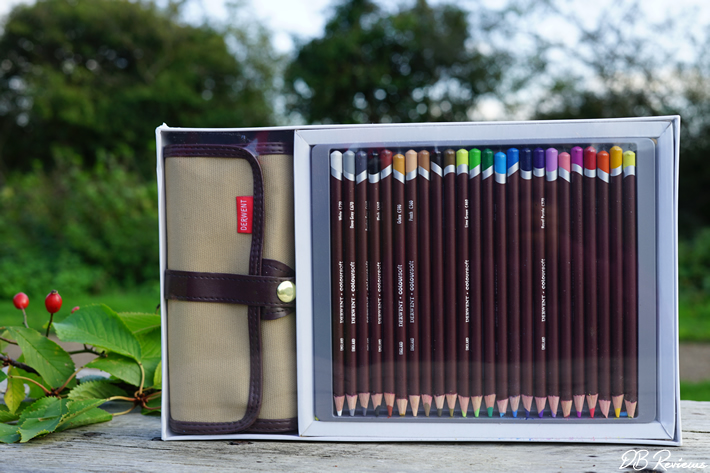 Derwent Coloursoft Pencil 24 Wrap Set