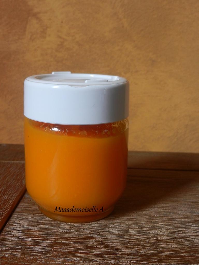 maaademoiselle a recette de petit pot pour b 233 b 233 pur 233 e de carottes