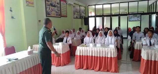 Menjadi Konselor, Danramil 12 Manisrenggo Bicara Kenakalan Remaja Di Klaten