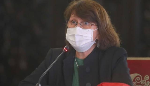 Ministra de Salud, Pilar Mazzetti