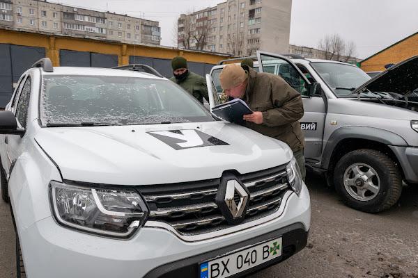 Прикордонники відмовились від військових номерних знаків
