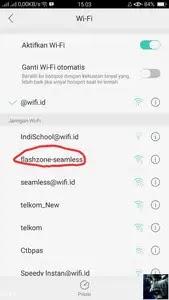 Cara hack Wif.id dengan Android