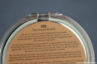 Review: 9 Bloggers Favourites von CATRICE - Sun Lover Glow Bronzing Powder - www.annitschkasblog.de