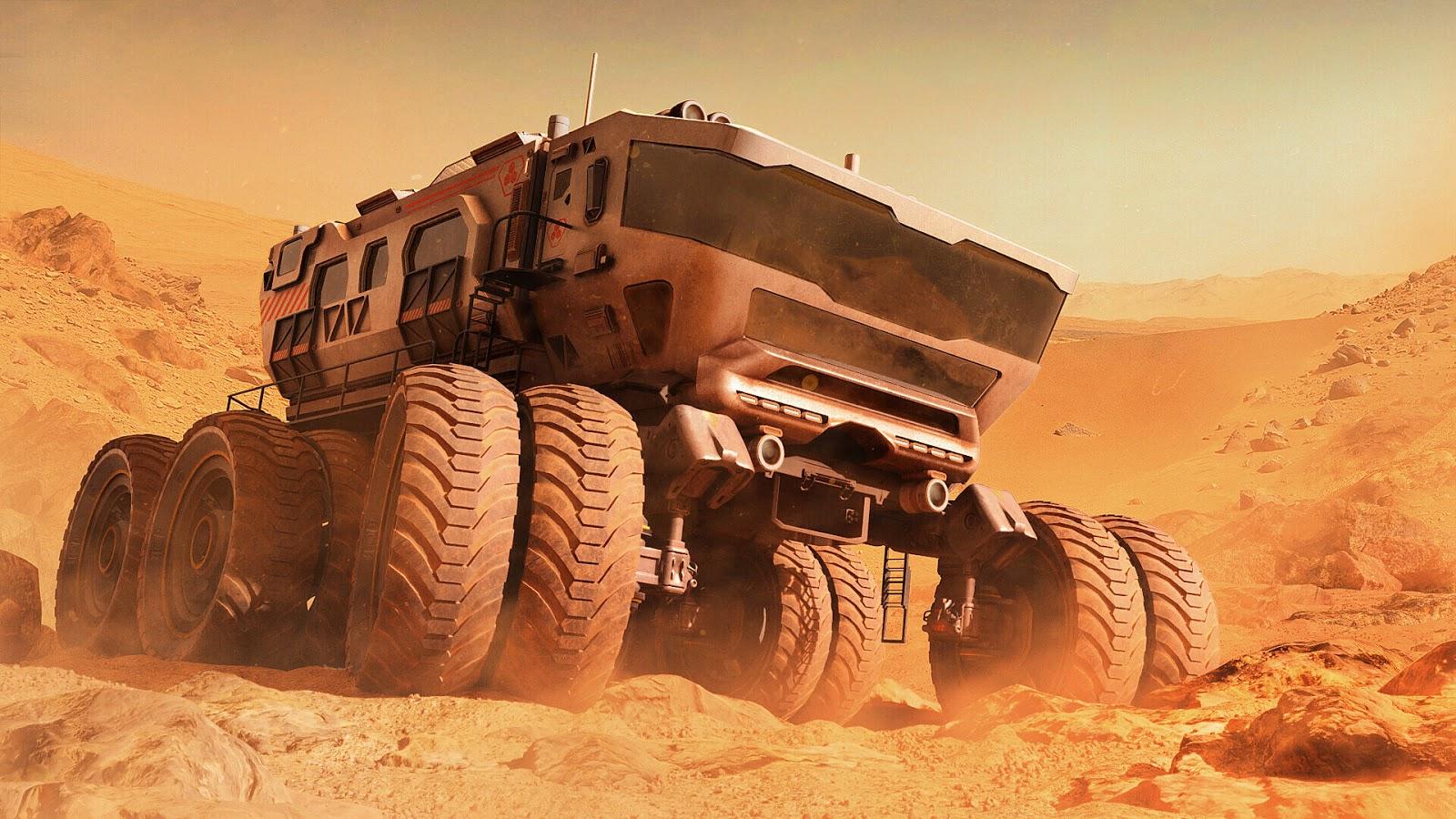mars Exploration Rover wallpaper hd