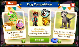 FarmVille 2 Country Escape, dog, dog competition