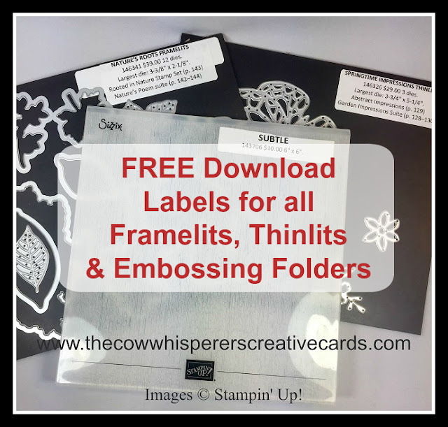 Free, Label, Punch, Framelit Dies, Resources