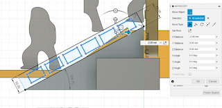 sketch the rectangle for the details of the stair