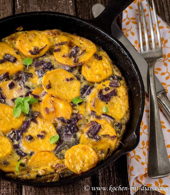Süßkartoffel-Tortilla