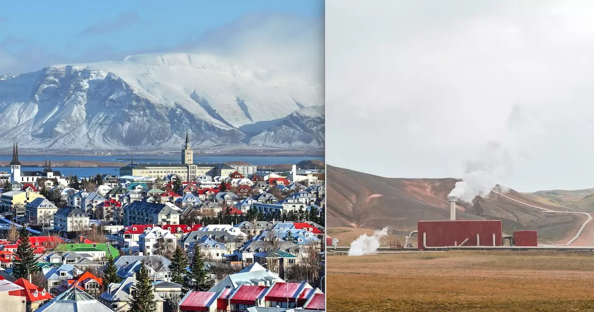 Iceland Is Sucking CO2 From The Air And Turning It Into Rock