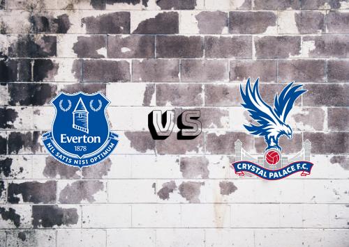 Everton vs Crystal Palace  Resumen y Partido Completo