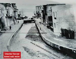 İstanbul Sarıyer deresi eski resim