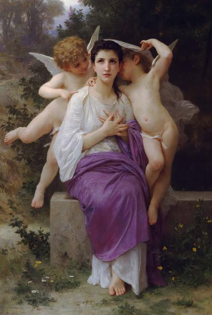 Адольф Вильям Бугро - Пробуждение сердца (1892)