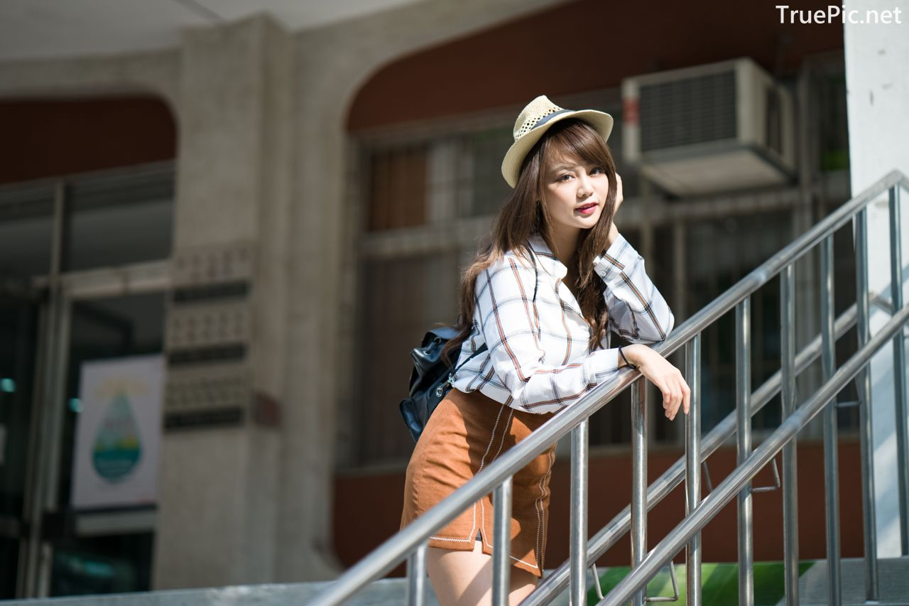 Image-Taiwan-Social-Celebrity-Sun-Hui-Tong-孫卉彤-A-Day-as-Student-Girl-TruePic.net- Picture-4