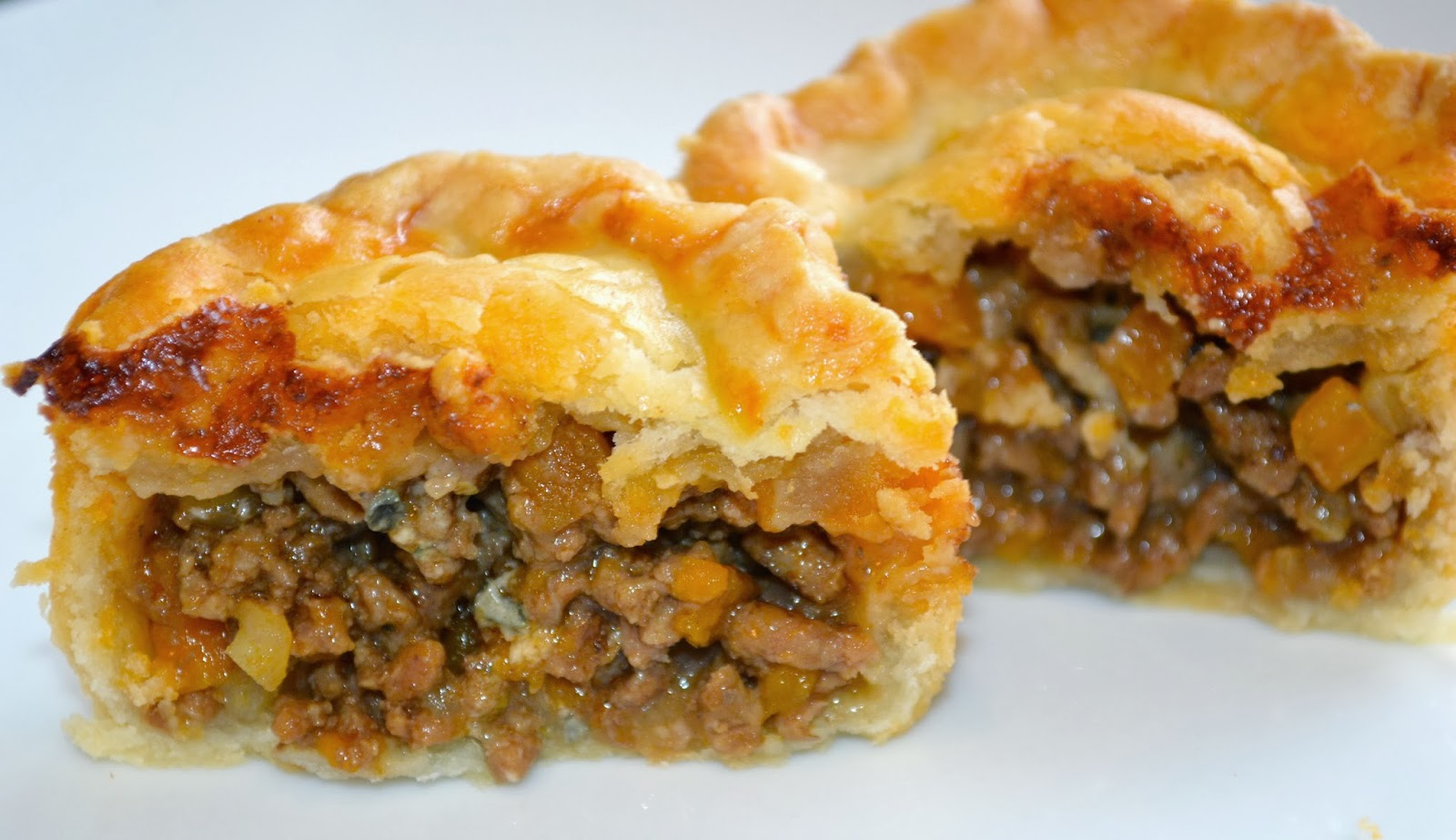 how to cook minced meat pie