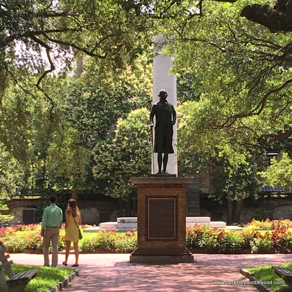 Washington Square park in Charleston, South Carolina