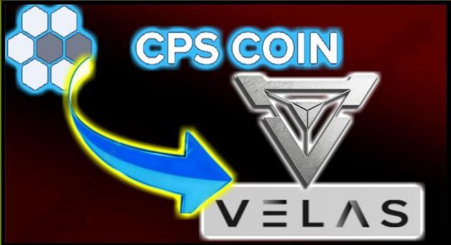 مستجدات هامة حول عملة cps  وعلاقتها بمشروع velas