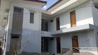 Progress pekerjaan rumah kost 2 lantai