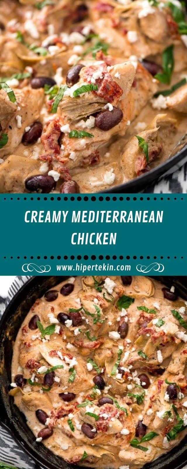 CREAMY MEDITERRANEAN CHICKEN