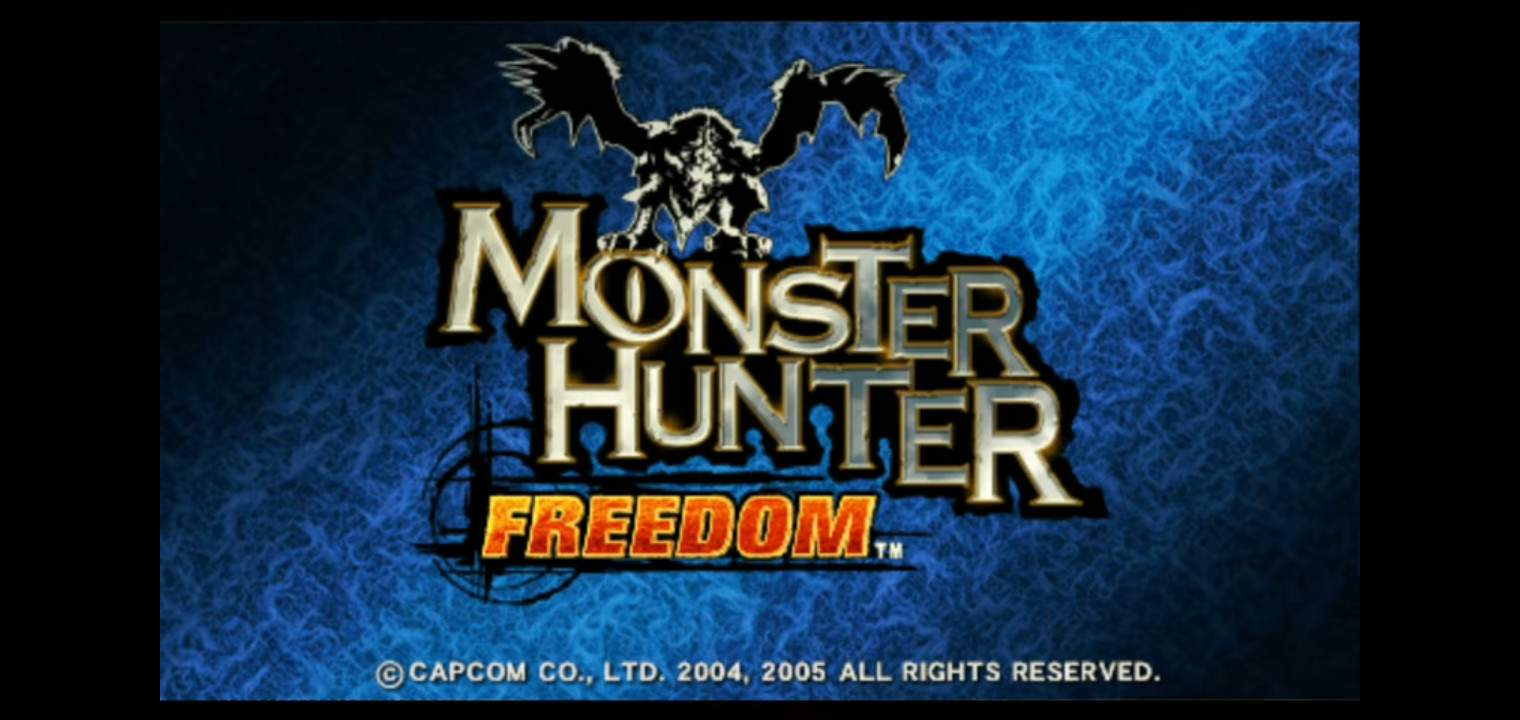 Monster Hunter Freedom (PSP ISO)