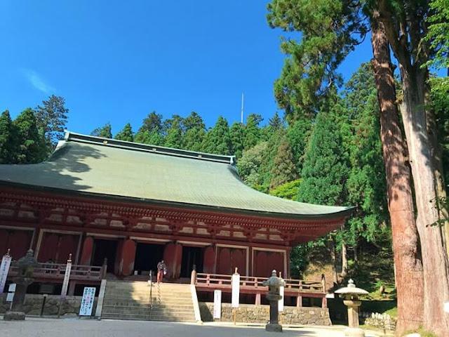 比叡山 延暦寺 釈迦堂