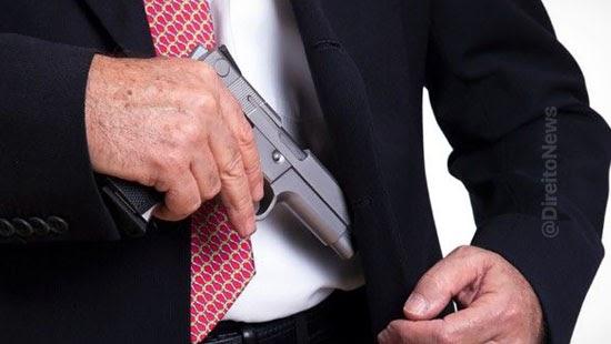 normas porte arma procuradores questionadas stf