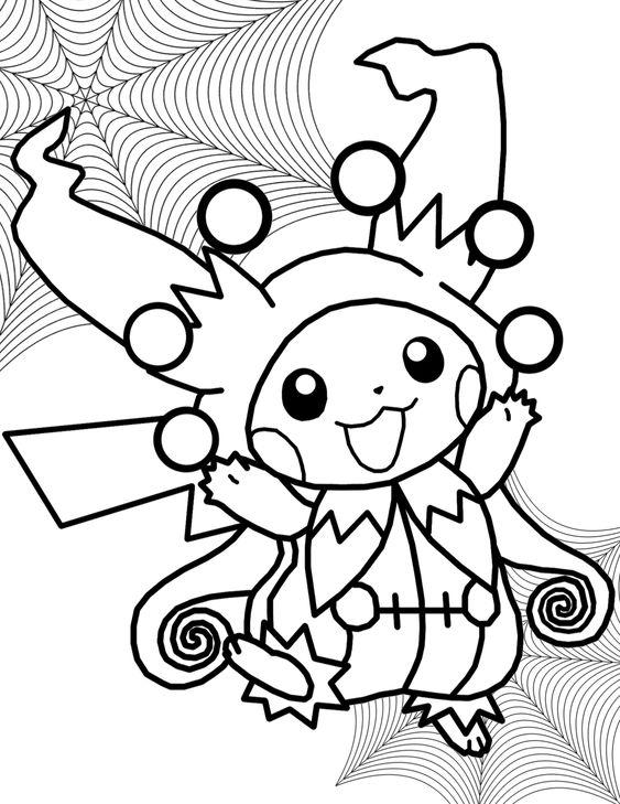 Tranh tô màu Pokemon 90