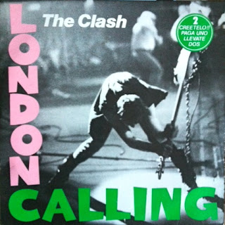 The Clash - London Calling (Portada)
