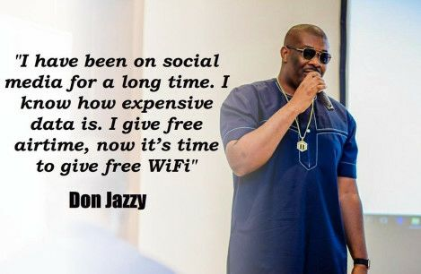 Don Jazzy gifts Lagosians free wi-fi