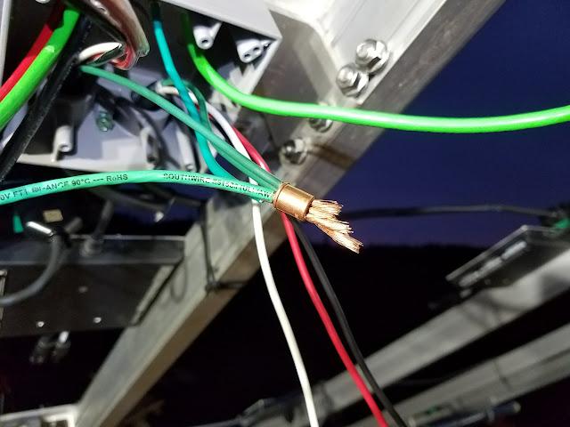 Crimp Ground Wires | Buckman Crimps For Grounds Jack S Solar Ground Mount Journey