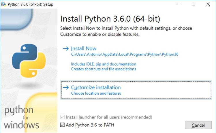 Python 3 para impacientes: Instalación de Python, paso a paso