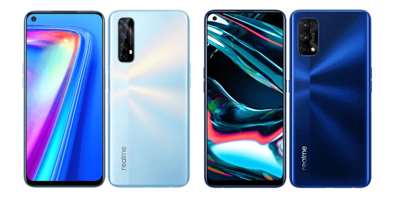 realme 7 and realme 7 Pro with revamped design and specs now official!
