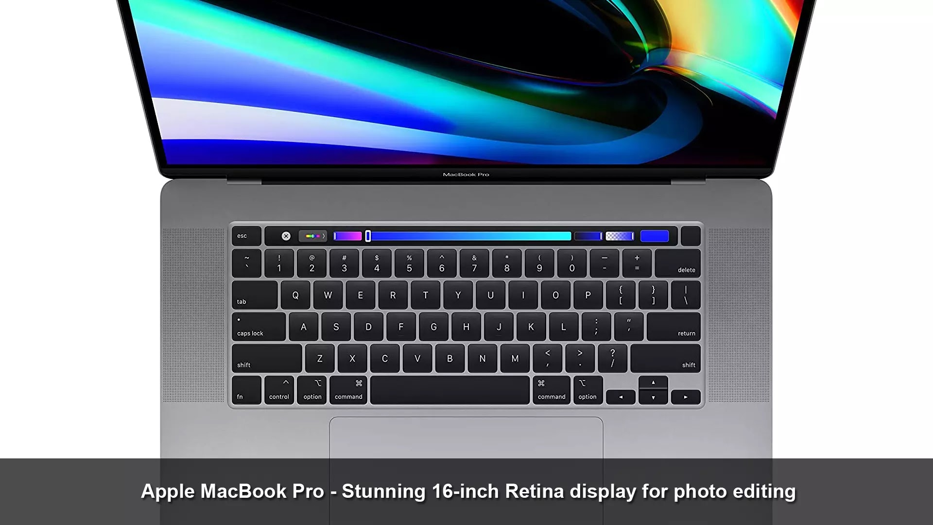 Apple MacBook Pro - stunning 16-inch Retina display for photo editing