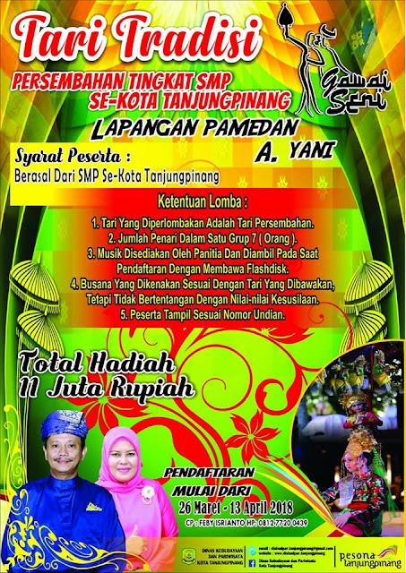 Gawai Seni 2018 Tanjung Pinang (25-28 April 2018) - Tari Tradisi