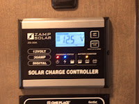 2018.5 Winnebago Fuse zamp solar controller