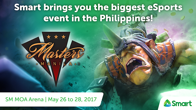 Smart powers the country's biggest Esports event - Manila Masters 2017